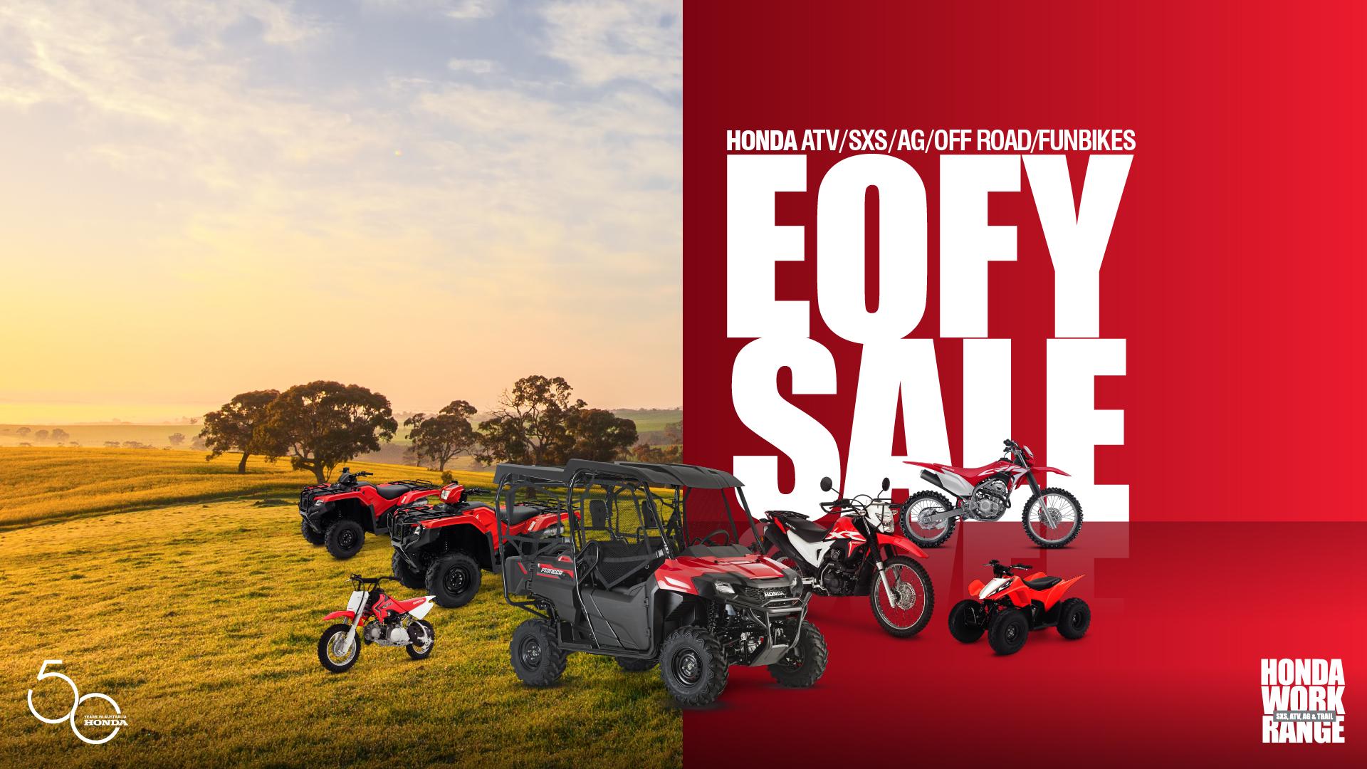 Honda EOFY Sale
