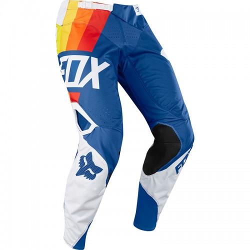 FOX Men's MX 360 Draftr Pant Blue 2018