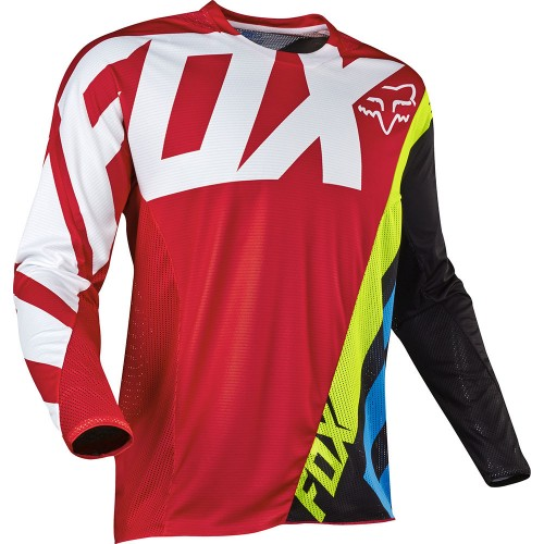 FOX Men's MX 360 Creo Jersey Red 2017