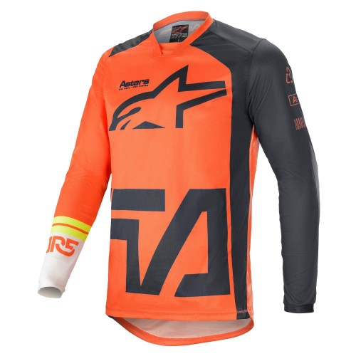 Alpinestars Men's Racer Compass Jersey Orange