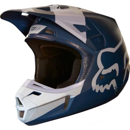 FOX Adult V2 Mastar Helmet Navy 2018