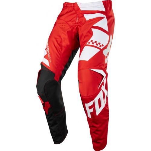 FOX Men's MX 180 Sayak Pant Red