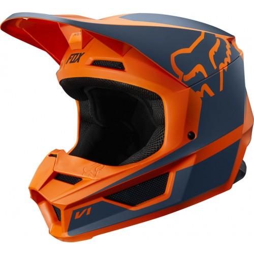 FOX Adult V1 Przm Helmet Orange 2019