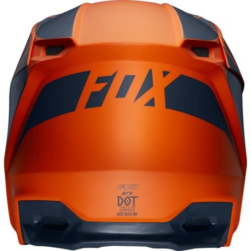 FOX Youth V1 Przm Helmet Orange 2019