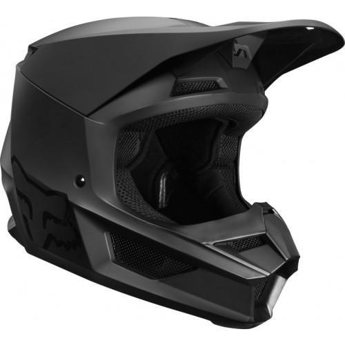 FOX Adult V1 Helmet Matte Black 2019
