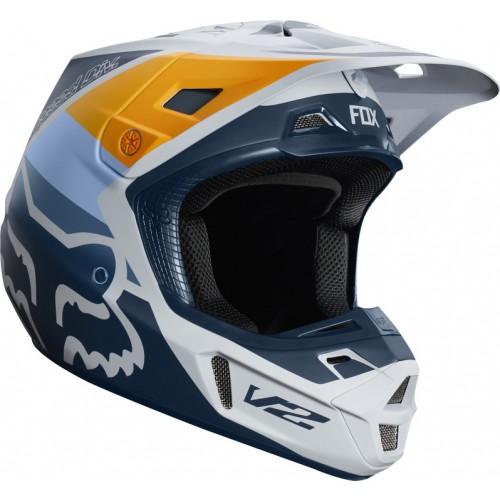 FOX Adult V2 Murc Helmet Grey 2019